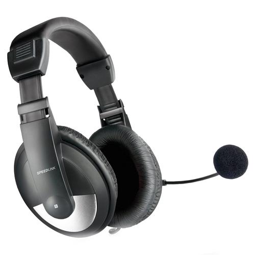Sluchátka Speed Link S mikrofonem