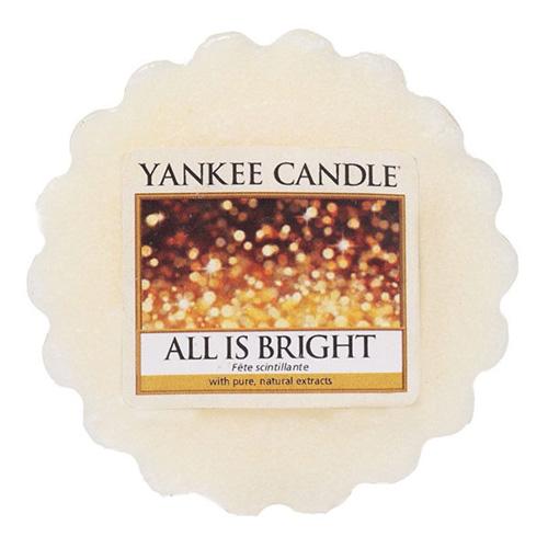 Vonný vosk Yankee Candle Všechno jen září, 22 g