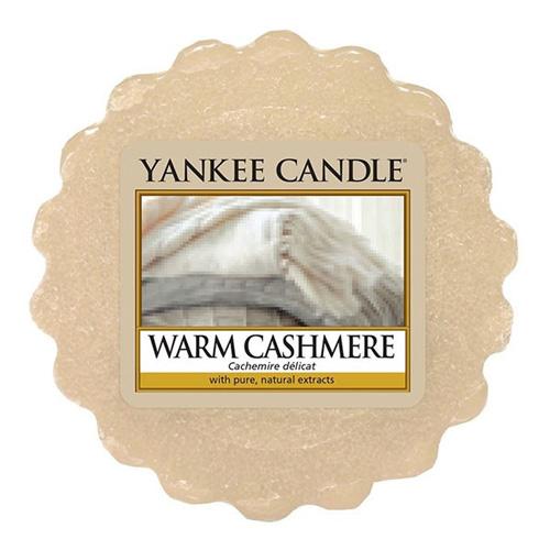 Vonný vosk Yankee Candle Hřejivý kašmír, 22 g