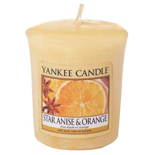 Svíčka Yankee Candle Anýz a pomeranč, 49 g