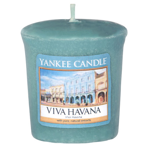 Svíčka Yankee Candle Ať žije Havana, 49 g