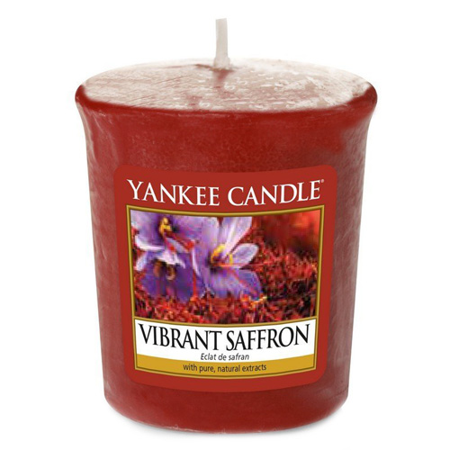 Svíčka Yankee Candle Živoucí šafrán, 49 g