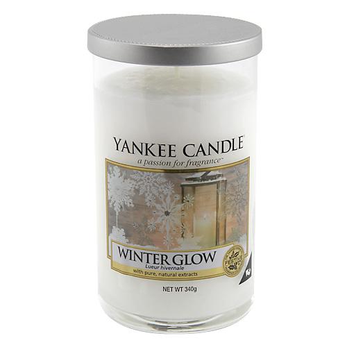 Svíčka ve skleněném válci Yankee Candle Zářivá zima, 340 g