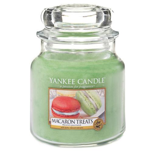 Vonná svíčka Yankee Candle 410 g - Macaron treats