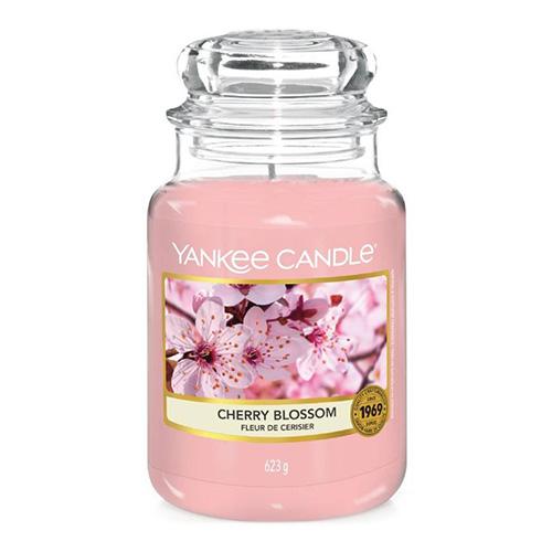 Svíčka ve skleněné dóze Yankee Candle Třešňový květ, 623 g