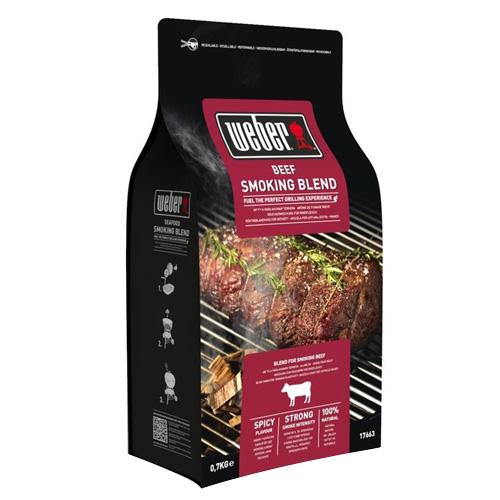 Udící lupínky Weber Hovězí maso, dřevěné, 700g