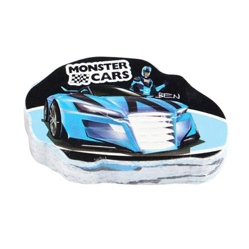 Magický ručník Monster Cars ASST Modré auto, Ben
