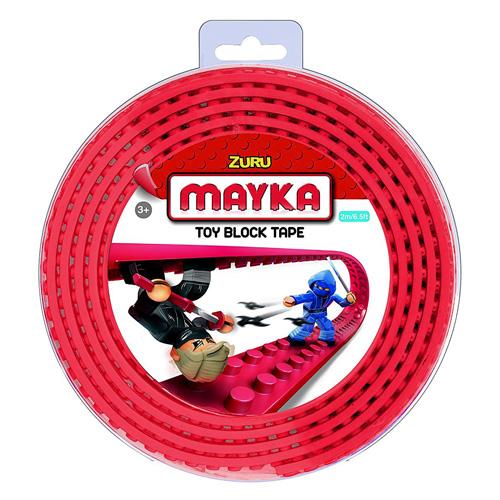 Lego páska Zuru Mayka, 2 m, červená