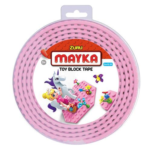 Lego páska Zuru Mayka, 2 m, růžová