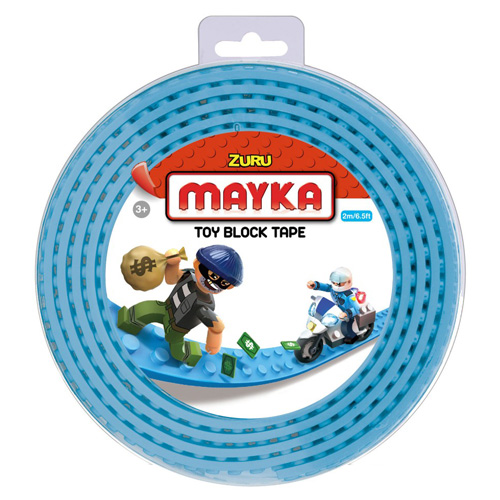 Lego páska Zuru Mayka, 2 m, tyrkysová