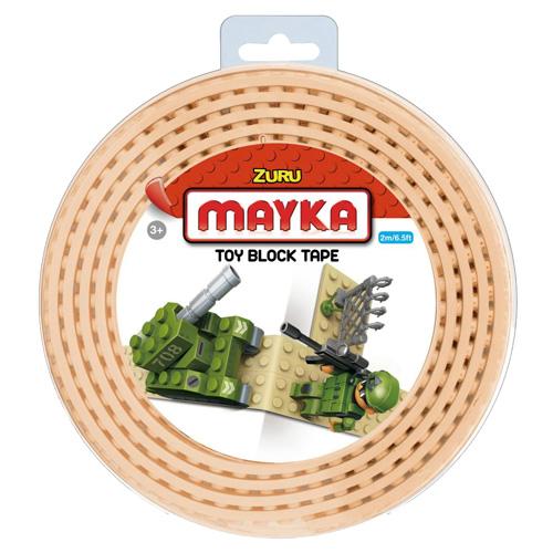 Lego páska Zuru Mayka, 2 m, béžová