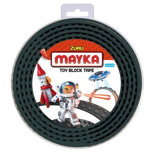 Lego páska Zuru Mayka, 2 m, černá