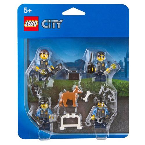 Set minifigurek LEGO City Policejní doplňky, 34 dílků