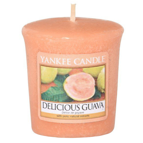 Svíčka Yankee Candle Lahodná kvajáva, 49 g