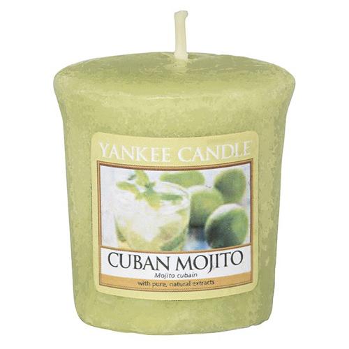 Svíčka Yankee Candle Kubánské mojito, 49 g