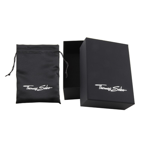 Thomas Sabo POS | Packing | BOX144 BOX Large, oblong with pouch for Pendants, Chains and Earrin
