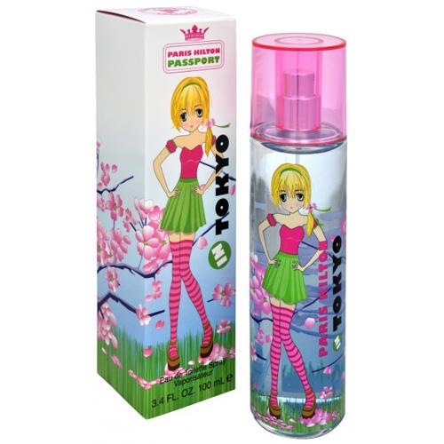 Toaletní voda Paris Hilton Passport Tokyo, 100 ml