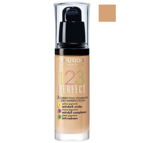 Make-up Bourjois Make-up pro perfektní pleť SPF 10 (123 Perfect) 30 ml Odstín