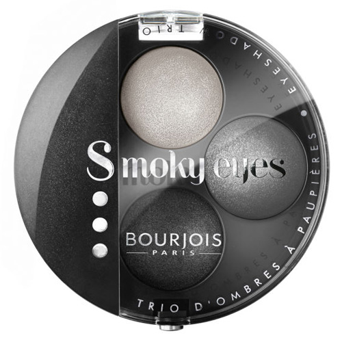 Bourjois Paris Oční stíny Bourjois Odstín 01 Gris Dandy, Smoky Eyes, 4.5 g