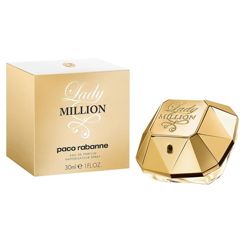Parfémová voda Paco Rabanne Lady Million, 30 ml