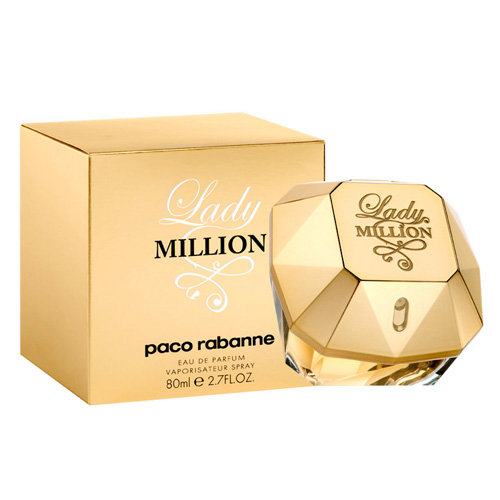 Parfémová voda Paco Rabanne Lady Million, 80 ml