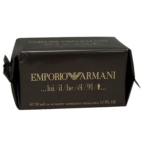 Toaletní voda pro muže Giorgio Armani Emporio Armani He, 30 ml