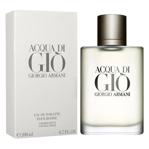 Toaletní voda Giorgio Armani Acqua Di Gio pour Homme, 200 ml
