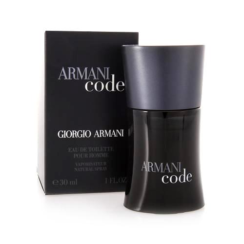 Toaletní voda pro muže s rozprašovačem Giorgio Armani Armani Code, 30 ml