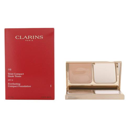 Fotografie Clarins Kompaktní make-up s dlouhotrvajícím účinkem SPF 15 (Everlasting Compact Foundation) 10 g