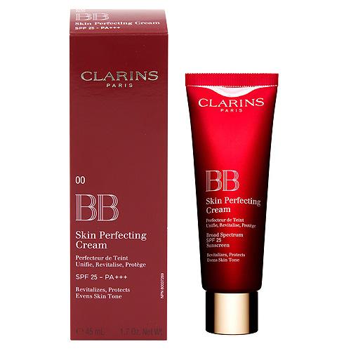 Fotografie BB krém Clarins 45 ml - make-up a pleťový krém v jednom SPF 25 Skin Perfecti