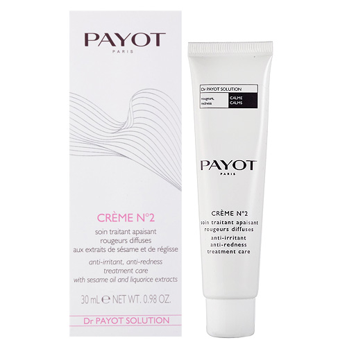 Krém na podrážděnou pokožku Payot 30 ml - Creme N°2, krém na podrážděnou pokožku