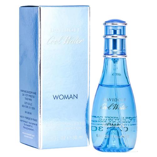 Toaletní voda Davidoff Cool Water Woman, 30 ml