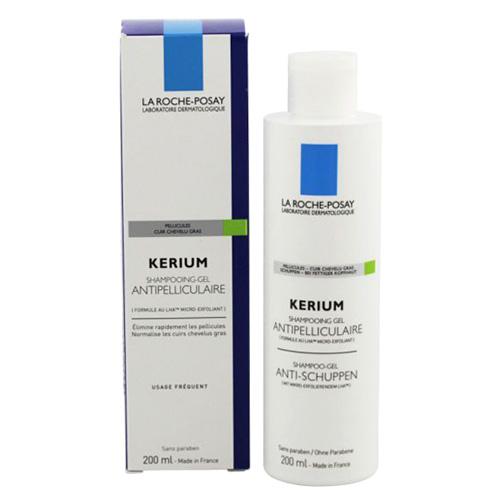 La Roche-Posay Gelový šampon na mastné lupy Kerium 200 ml
