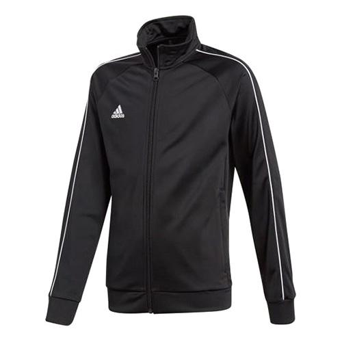 Dětská mikina Adidas SS18, CORE18 PES JKTY BLACK/WHITE | 164
