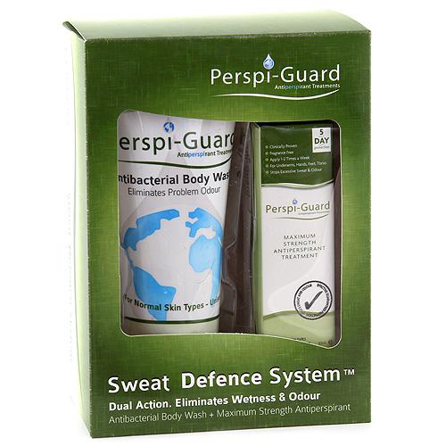 Sada proti nadměrnému pocení Perspi-Guard Antiperspirant ve spreji, sprchový krém