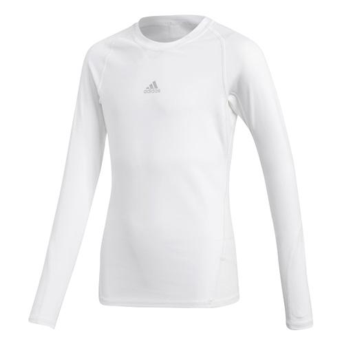 Dětské funkční tričko Adidas AlphaSkin | Bílá | 152