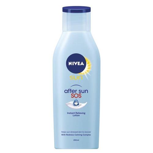 Fotografie Nivea Zklidňující mléko po opalování SOS After Sun (Repair Lotion)