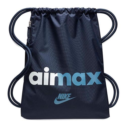 Vak Nike Heritage Gymsack Air Max | Tmavě modrá | Objem 15 l