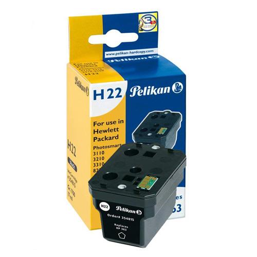 Inkoustová kazeta Pelikan H22, černá, 17 ml