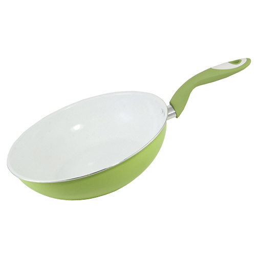 Pánev Smart Cook keramická zeleno-bílá
