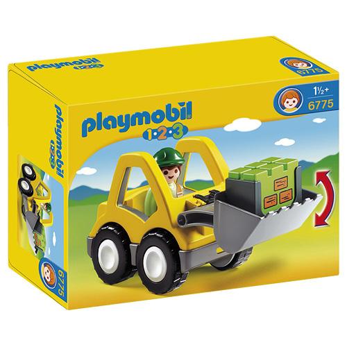 Čelní nakladač Playmobil