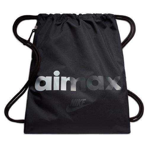 Nike NK HERITAGE GMSK 2 - GFX 30 | NSW OTHER SPORTS | ADULT UNISEX | GYM SACK | BLACK/BLAC
