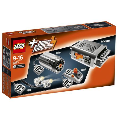 Stavebnice LEGO Technic Motorová sada Power Functions, 1153 dílků