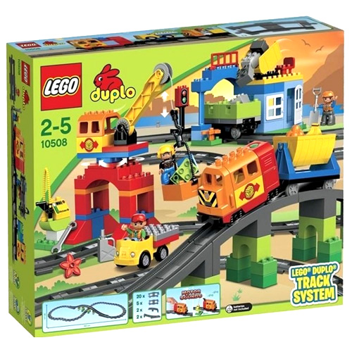 Stavebnice LEGO Duplo Vláček Deluxe, 134 dílků