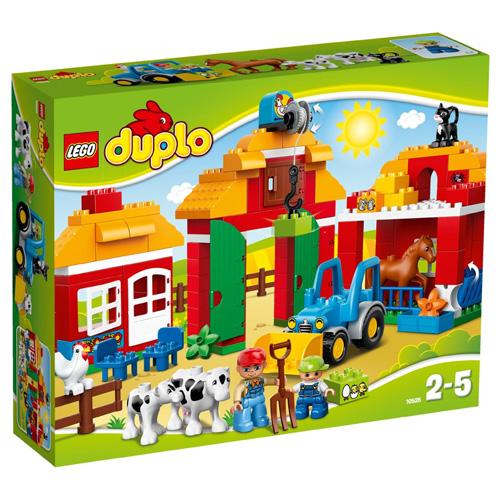 Stavebnice LEGO Duplo Velká farma, 121 dílků