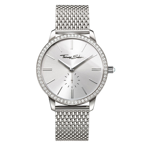 Dámské hodinky Thomas Sabo WA0316-201-201-33 mm, Watches, stainless steel, mineral glas