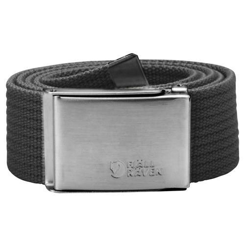 Fjällräven Canvas Belt Dark Grey | 30 | One size