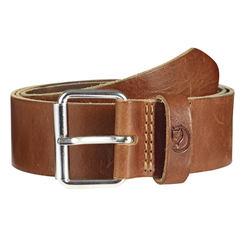 Fjällräven Singi Belt 4 cm. Leather Cognac | 249 | 110cm