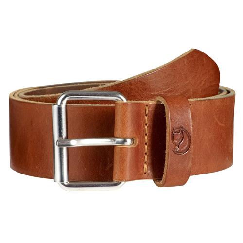 Fjällräven Singi Belt 4 cm. Leather Cognac | 249 | 85cm