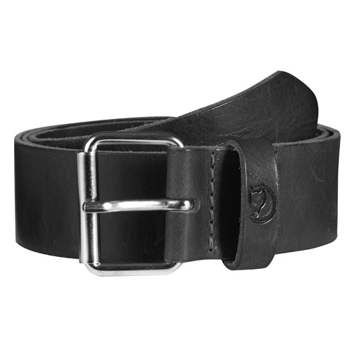 Fjällräven Singi Belt 4 cm. Black | 550 | 75cm